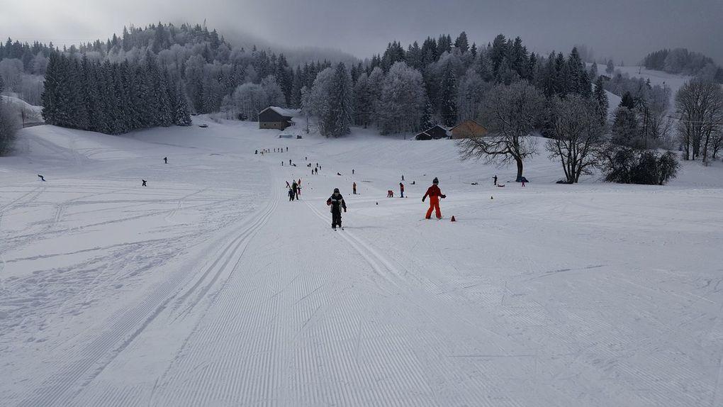 Dernière sortie ski de fond pour les CP CE1