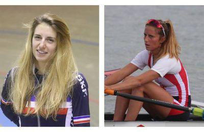 Médaillée mondiale en aviron, Marion Colard brille aussi en cyclisme sur piste et s'entraîne à Bourges pour se perfectionner...