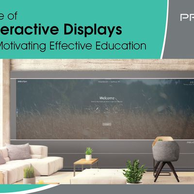 Role of Interactive Display in Motivating Effective Education