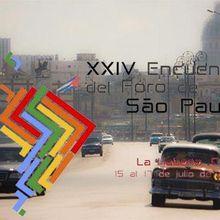 430 délégués réunis au 24ème forum de Sao Paulo à Cuba