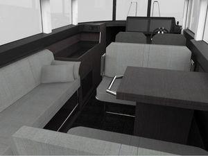 Les Scoops du Nautic 2015 - tous premiers visuels du nouveau XO Boats 360 Cabin !