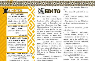 Le journal Madaction