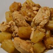 Poulet ananas recette cookeo |