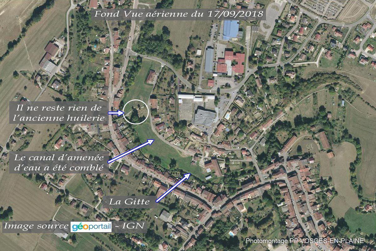 DOMPAIRE, Huilerie ou Moulin du Saulcy ?