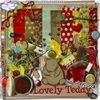 """Kit """"lovely teddy"""" de Chriscrap"""