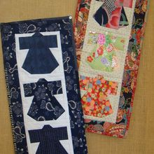 Patchwork quilt kimo