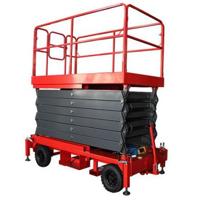 What are the Specification of mobile scissor lift Platform