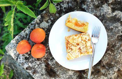 Gâteau Moelleux Abricot Amande