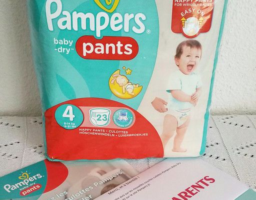 Test des couches-culottes Pampers Baby-Dry Pants