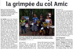 Dernières Nouvelles d'Alsace du 15/09/2015