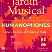 LE JARDIN MUSICAL de BOULOC