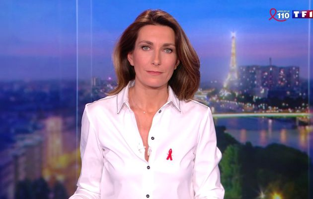 📸11 ANNE-CLAIRE COUDRAY @ACCoudray @TF1 @TF1LeJT pour LE 20H WEEK-END #vuesalatele