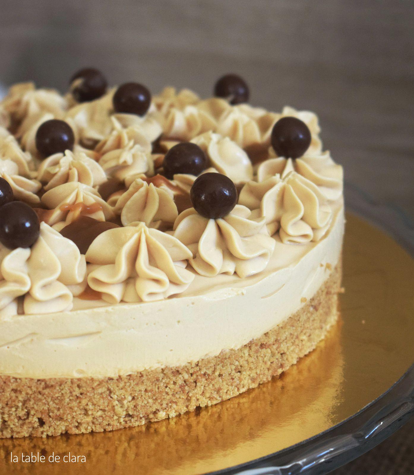 Cheesecake au caramel beurre salé