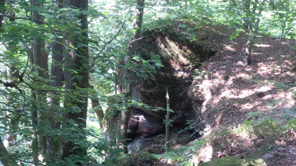La falaise de faille du Rocher du Kühberg (620 m).