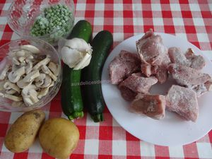 Sauté de veau aux légumes, au Cookéo ou pas