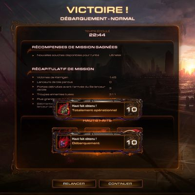 [Heart Of The Swarm - Campagne] Débarquement