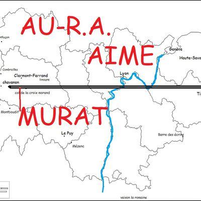 AURA AIME MURAT (Tribute auvergne-rhône-alpin à Jean-Louis Murat): LES TITRES!!