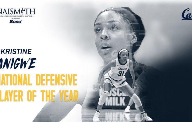 NCAA : Kristine Anigwe élue meilleure Défenseure de l'année !