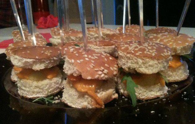 Mini hamburgers apéro