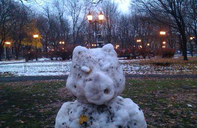Les bonshommes de neige