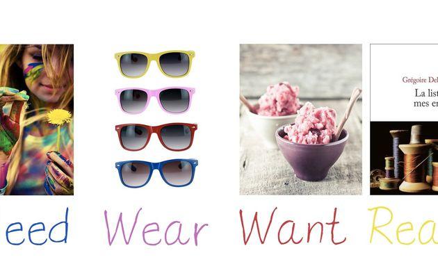 Wear, read, need, want # 13