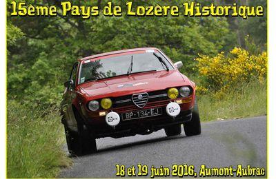 15ème Pays de Lozère Historique 2016