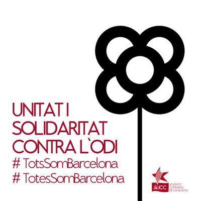 Unité et solidarité contre la haine - Communiqué sur l'attentat terroriste de Barcelone de la Jeunesse Communiste de Catalogne