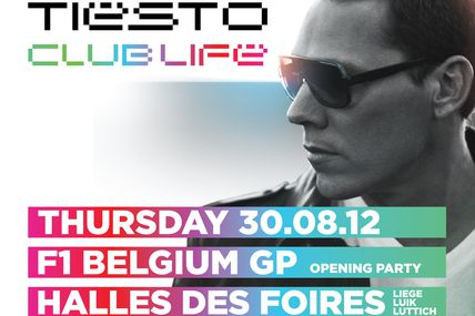 Tiësto photos - Liége / Belgique 30 august 2012
