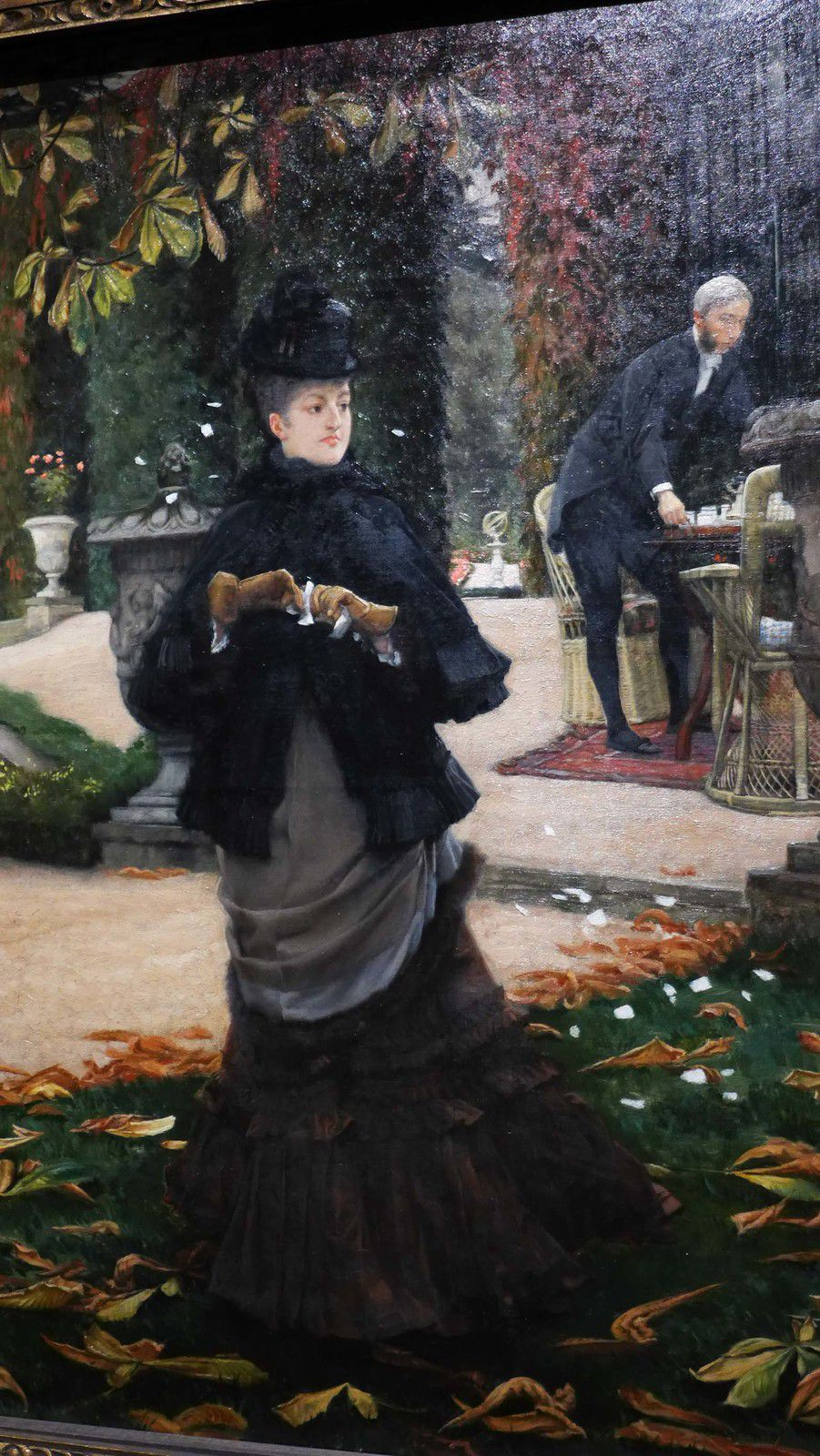 The reply dit aussi the letter (1874), Ottawa, National Gallery of Canada