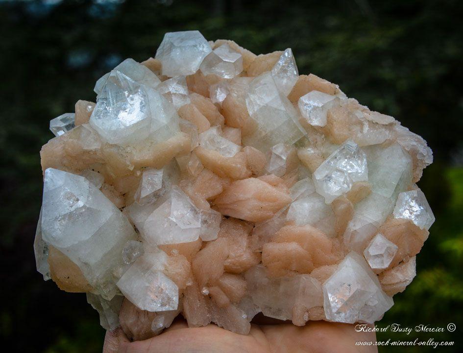 Apophyllite Stilbite from Shirdi Mine, Sangamner, Maharashtra, India (size: Cabinet)