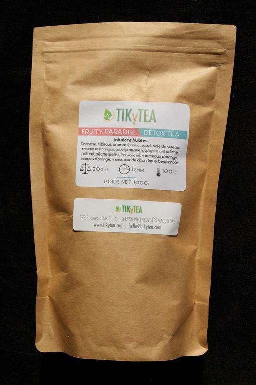 J'ai testé pour vous les thés TikyTea, mon avis !