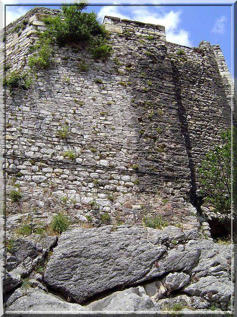 Diaporama château de La Voulte sur Rhône