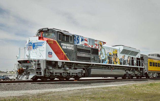 La nouvelle SD70ACe Union Pacific