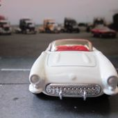 CHEVROLET CORVETTE CABRIOLET 1957 MATCHBOX 1/58 - car-collector.net