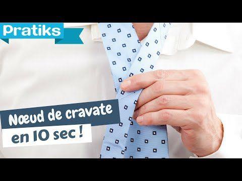 Faire un nœud de cravate en 10 secondes