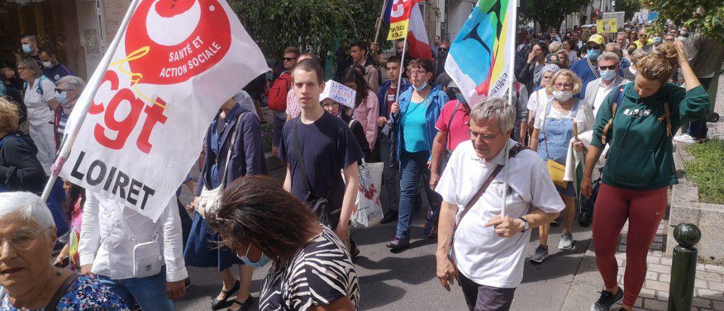 Nouvelle mobilisation contre le Pass sanitaire samedi. 240 000 Manifestants.