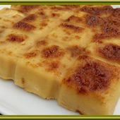 Clafoutis aux pommes et éclats de Caramel - Oh, la gourmande..