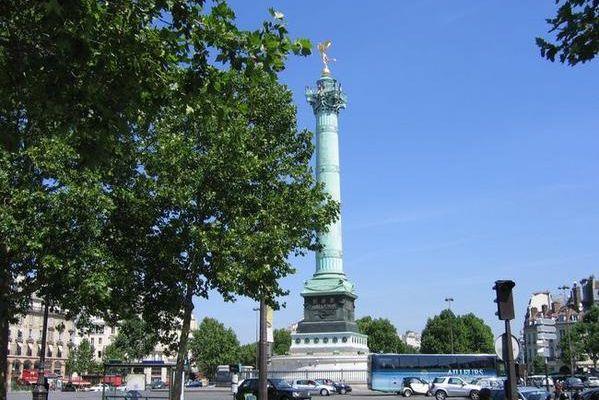 La Bastille.