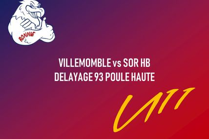 Villemomble HB vs SOR HB | U11M | Délayage 93 Poule Haute (10.11.2018)