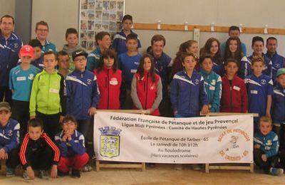 Championnat départemental en Doublette à Lannemezan (65) le 17 Mai 2015