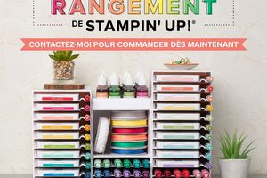 Solution de Rangement Stampin'Up ! - 1er Avril 2019