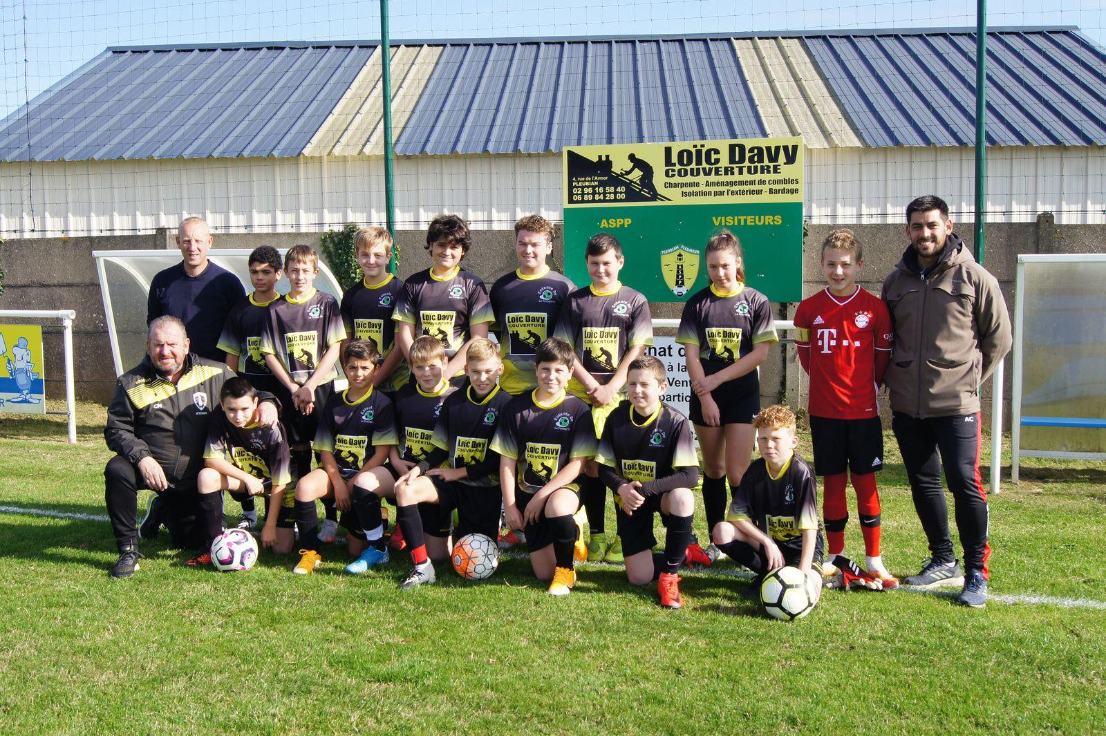 L'équipe U14 2020-2021