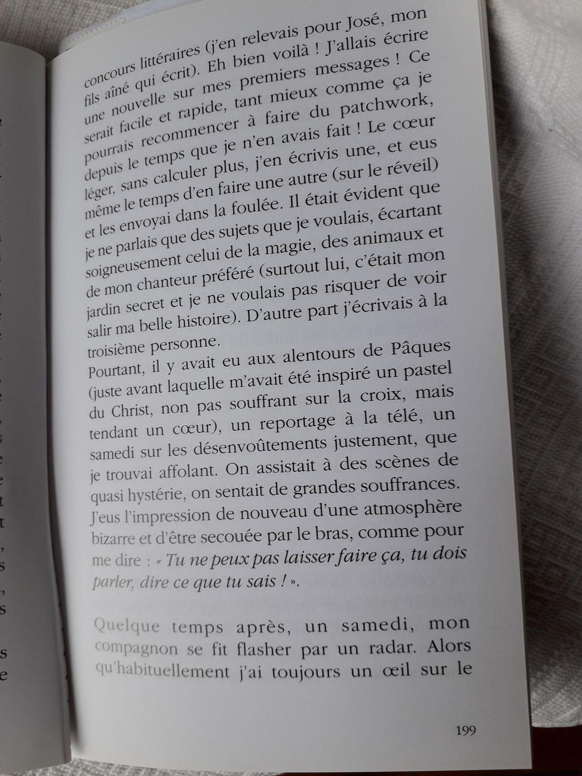Suite Pluie de Poussières d'Etoiles, page 196 à 200