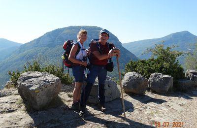 Ma rando. à St May :Tour de la montagne de Buègue