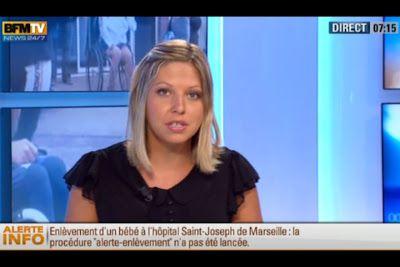 [2012 08 28] CAROLE COATSALIOU - BFM TV - PREMIERE EDITION 'Sports' @07H15
