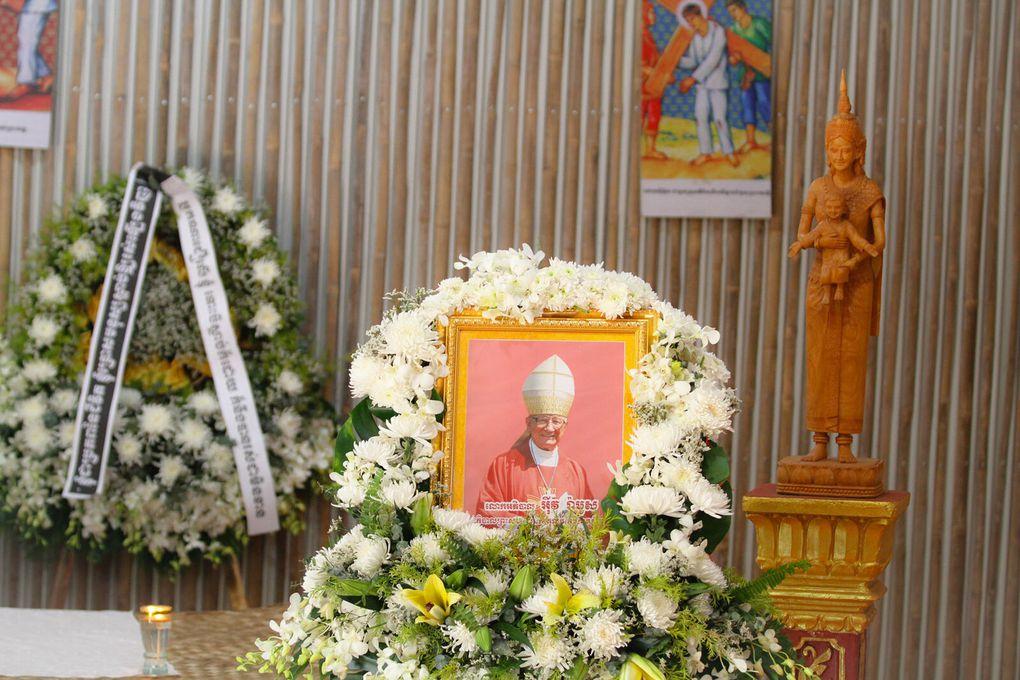 Les funérailles de Monseigneur Yves Ramousse