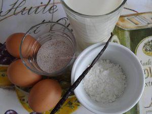 Fraises et crème vanille au Grand-Marnier