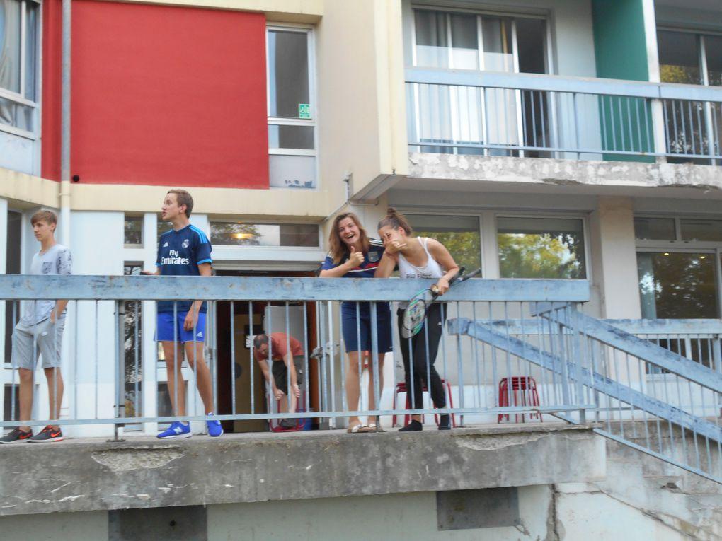Activités estivales à l'internat