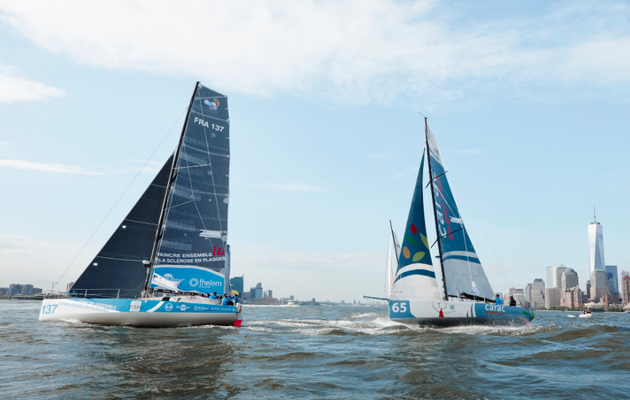 30 skippers au départ de The Transat CIC 2020