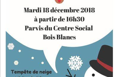 Fête de l'Hiver - Mardi 18 décembre 16h30 Parvis du Centre Social Lille Bois Blancs